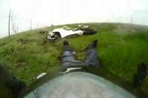 A cazut de pe motocicleta